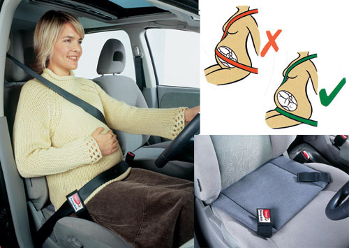 Пристегиваться беременной в машине